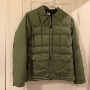 Patagonia Green Down Jacket Size S